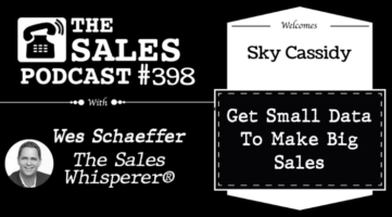 MountainTop Data CEO Guests On Sales Podcast: Get Reliable Data To Market And Scale With Sky Cassidy